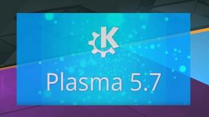 KDE PLASMA 5.7