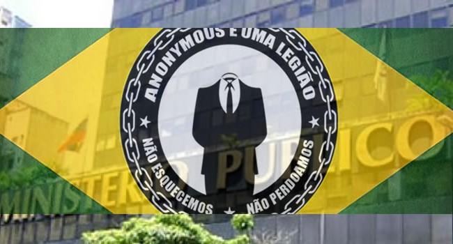 Anonymous invade o Ministério Público e sequestra vários computadores usando um Ransomware