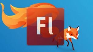 suporte ao flash no firefox