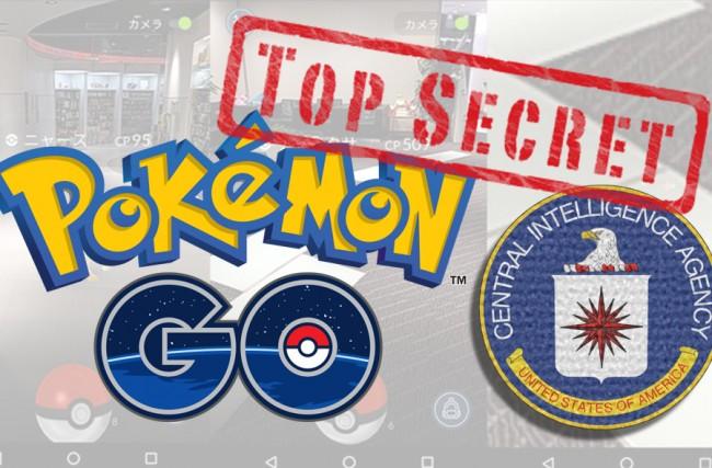 Pokemon GO foi criado pela CIA para espionar os usuários?