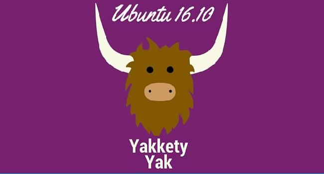 Ubuntu 16.10 Yakkety Yak beta já está disponível para download