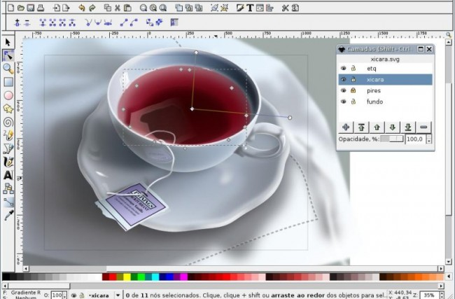 Design gráfico com Inkscape