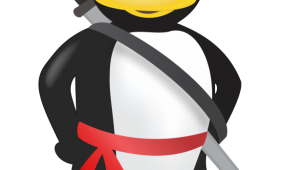 mascote ninja do linux