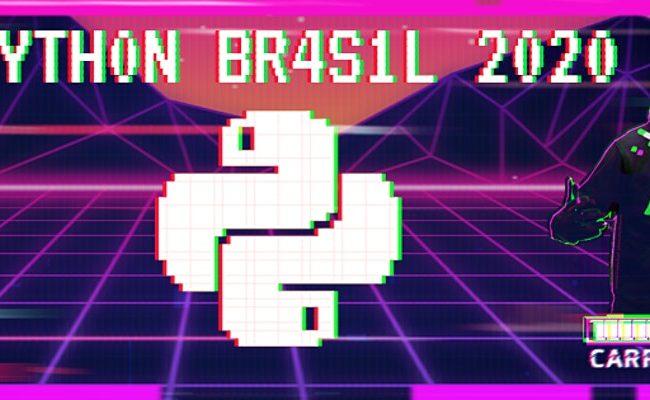 Python Brasil 2020 – online agora